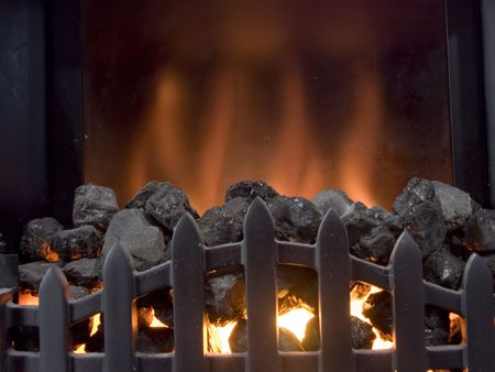 hearth and home: Coal Fire