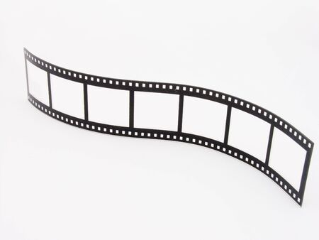 A novelty photoframe in the shape of a film strip Stock Photo