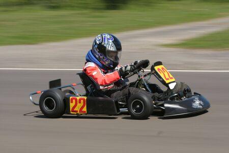 carting: A cadet go kart