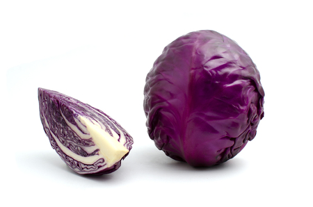 cabbage is vegetable organic food ingredients Can be used for cooking.
