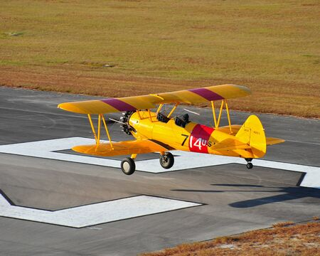 Stearman Over the Numbers photo