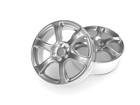 car wheel isolated