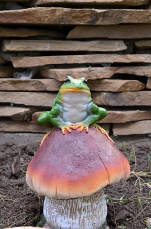 frog figurine Stock Photo - 13699613