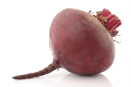 Beets on a white background photo