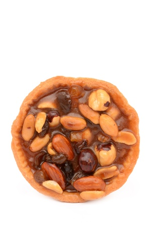 Tartlet on a white background Stock Photo