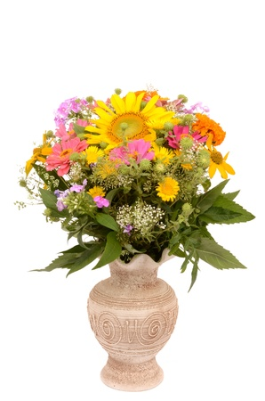 Wildflowers in a Vase photo
