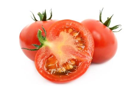 Fresh tomato 스톡 사진