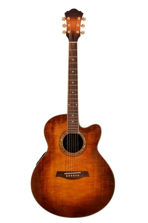 country western: acoustic guitar Stock Photo