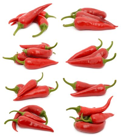 chili sauce: Hot chili peppers