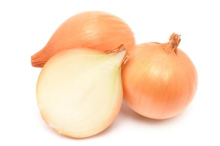 golden onions Stock Photo