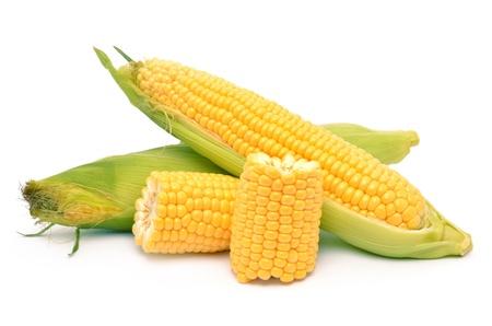 Corn op een witte achtergrond