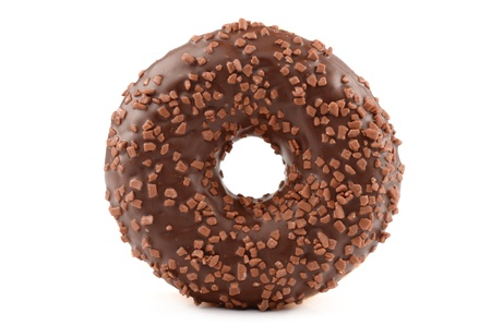 Donut on a white background Stock Photo