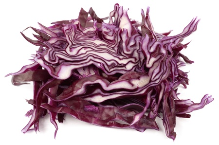fresh red cabbage photo