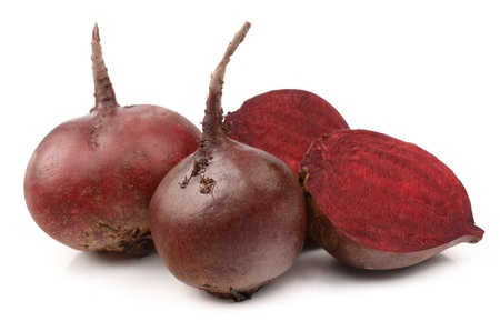 Beets on a white background Stock Photo - 18169274