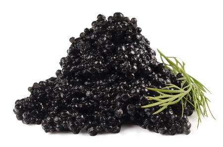 블랙 캐비어 스톡 사진