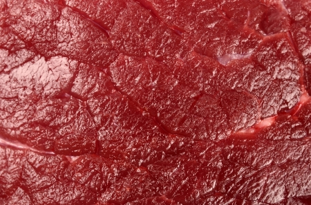 Veal closeup photo