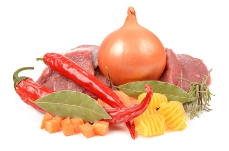 pungency: fresh meats with pasta and seasoning