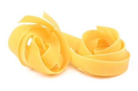maccheroni: Pasta on a white background