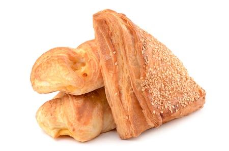 Bun with cheese Stock Photo