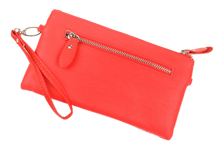 dolly bag: red clutch Stock Photo