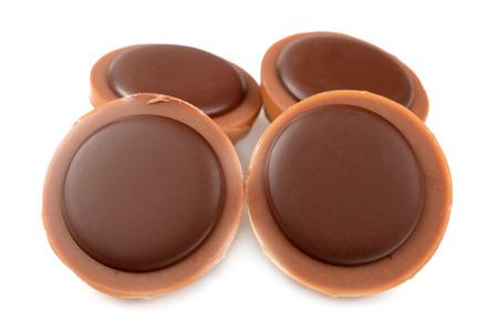 Chocolate Caramel Isolated