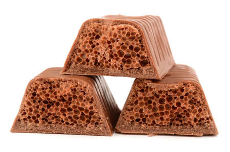 porous chocolate photo