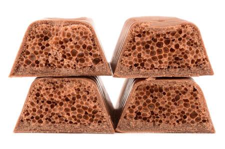 porous: porous chocolates