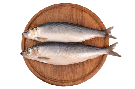 coldblooded: Herring on a white background