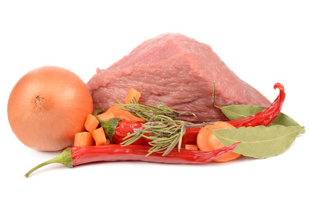 pungency: fresh meats