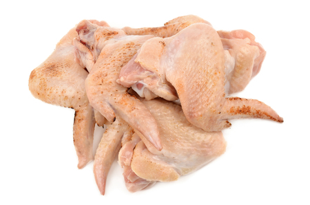 jointed: fresh chicken Stock Photo