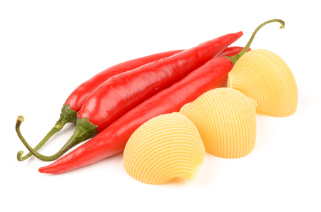 pungency: pasta and chili