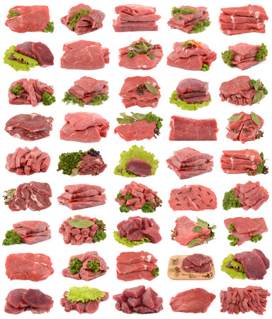 pungency: Collection of fresh beef