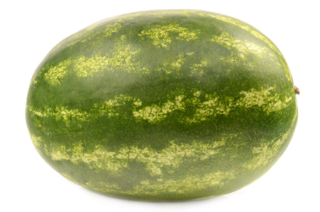 pulpy: Watermelon on white background Stock Photo