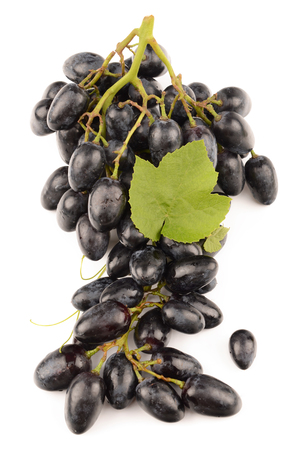 juicy: Juicy Grapes on white background
