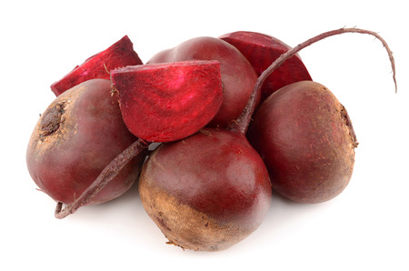 beets: beets on a white background