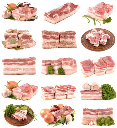 Fleisch und Gewürzen