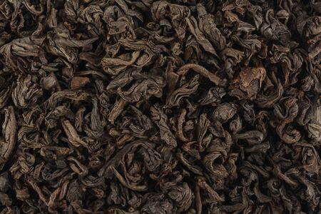 theine: black tea closeup
