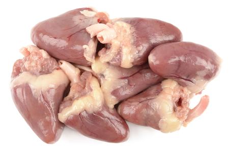 offal: chicken heart Stock Photo