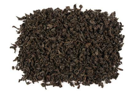 theine: tea on a white background Stock Photo