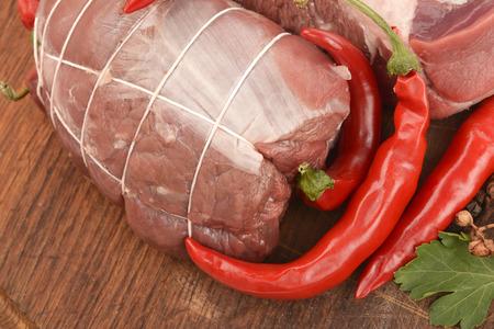 mutton closeup