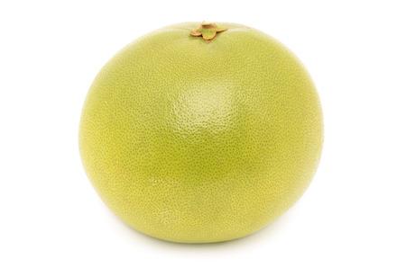 juicy pomelo isolated on white background Stock Photo