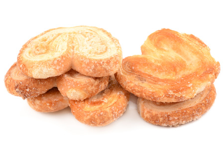 morsels: delicious cookies isolated on a white background