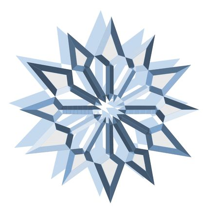 shape, snowflake photo