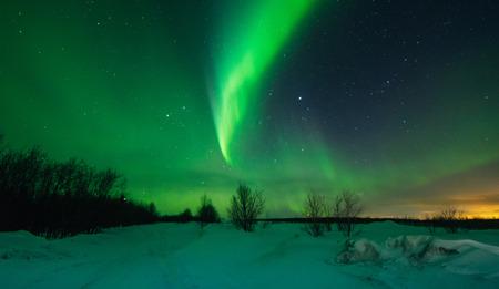 Northern lights ,Aurora borealis,green,purple,blue,stars.  North Pole,Iceland,Russia