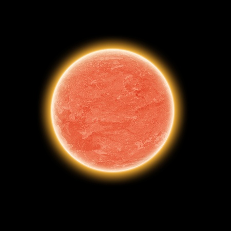 The red planet. photo