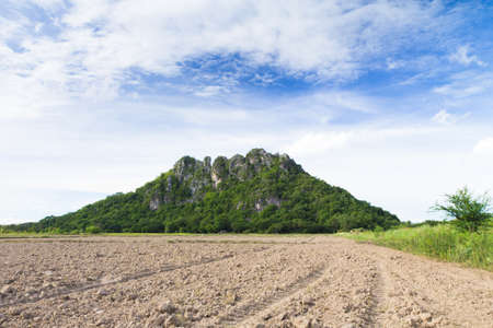 Sea and the mountains in Thailand. Stock Photo