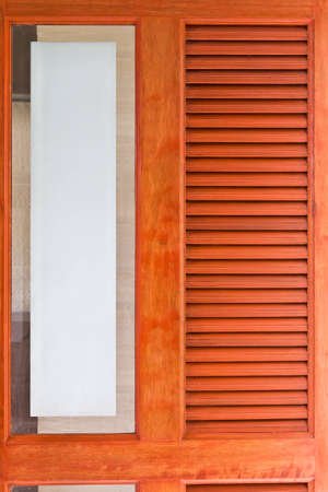 Luxury wooden walls of five star hotels.