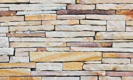 Stone wall along the eastern sea of Thailand. Stock Photo