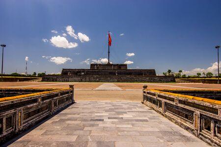 hue: flag tower hue vietnam