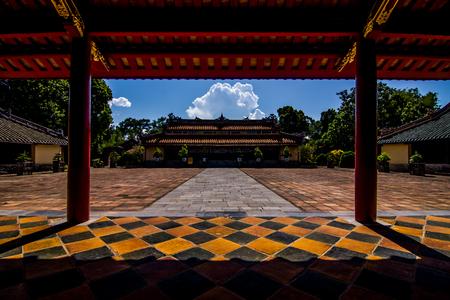 hue: Minh Mang Tomb hue Vietnam
